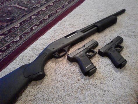 my glock firearms collection home defense weapons the best