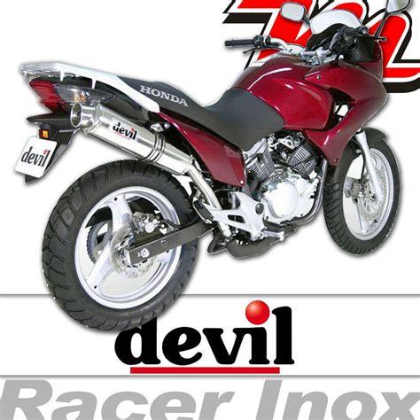 silencieux pot 233 chappement racer inox honda varadero 2000 2015