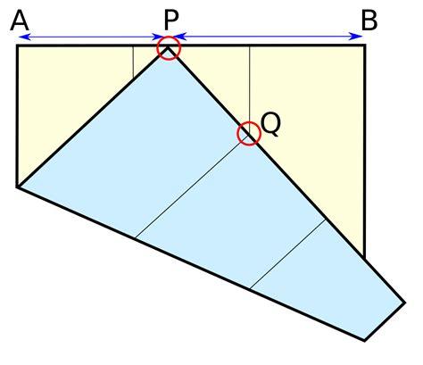 Paper Folding Problem - file delian origami svg