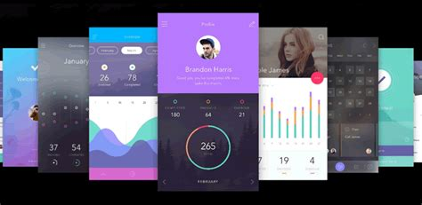 design app android photoshop top 50 free mobile ui kits for ios android