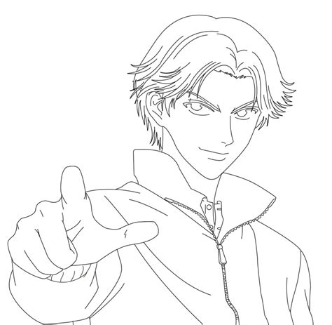 Atobe Drawing Project Outline By Adult Swim Fan On Deviantart Outline Drawings For