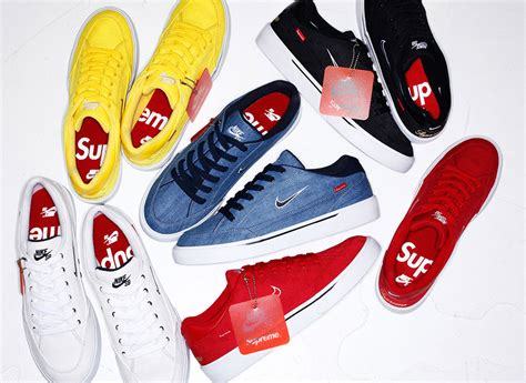 supreme shoes supreme x nike gts july 16th release sneakernews