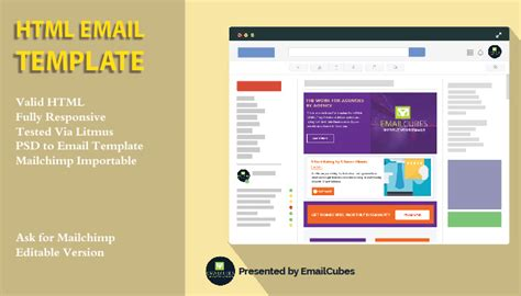 html email template creator create responsive html email template for 10 seoclerks
