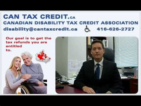 Disability Tax Credit Forms Bc canadian disability tax credit association ca how
