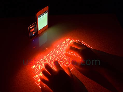 Projector Keyboard magic cube projection keyboard and multi touch mouse