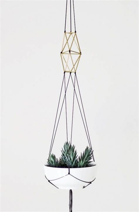 How To Macrame A Plant Holder - macrame plant holder craft time