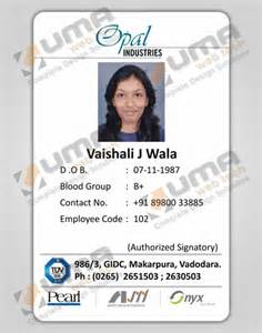 employee id card template company identity cards design jamnagar gujarat india