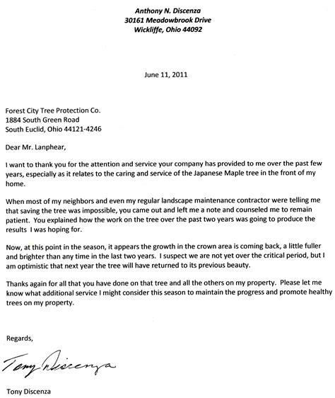 Request Letter Cutting Of Trees Tree Care Lanphear Cleveland S Tree Doctor