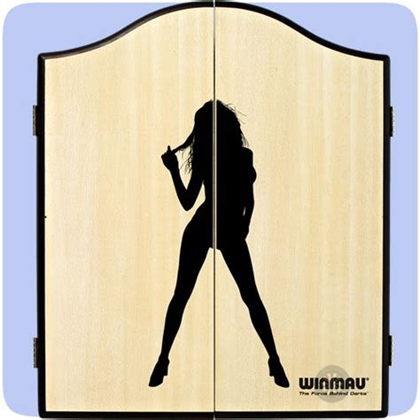 winmau dartboard in cabinet 1000 ideas about dartboard surround on