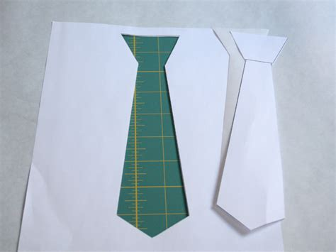 How To Make A Tie Out Of Paper - diy valentines day craft glitter tie and bow tie tees