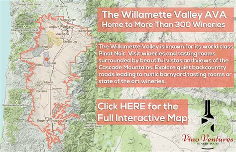 map of oregon wine country willamette valley wine tours oregon wine country vino
