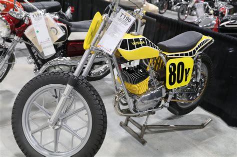 Oldmotodude 1970 Yamaha 350 Champion Framed Flat Tracker