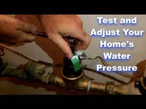 home water pressure test and adjust your home s water pressure by home