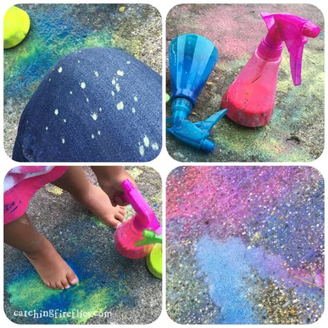 spray painting play color play spray chalk creative gift ideas news at
