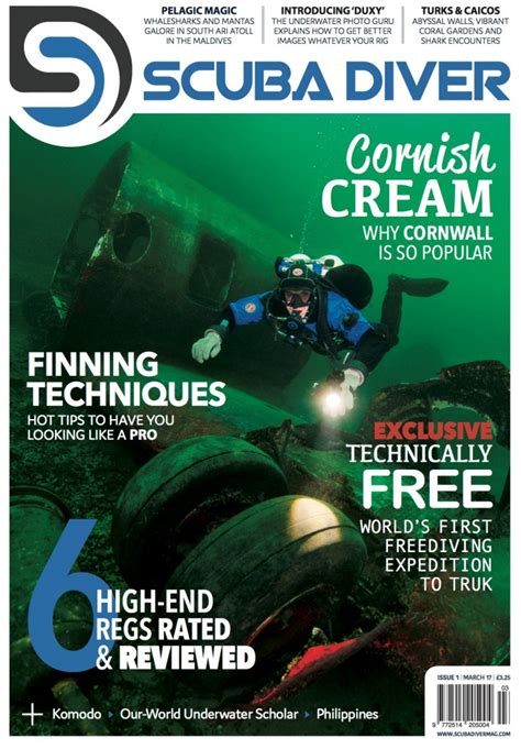 dive magazine new dive magazine launched