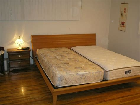 solid wood platform bedeasten king size ebay