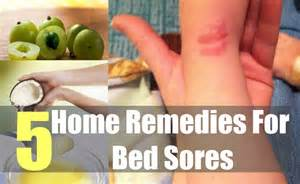 bed sores home remedies treatment and cures