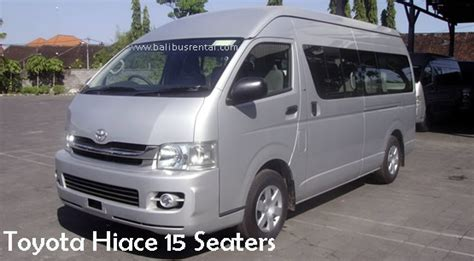 Toyota Commuter Hire Toyota Hiace Rental Bali Toyota Hiace Hire And Charter