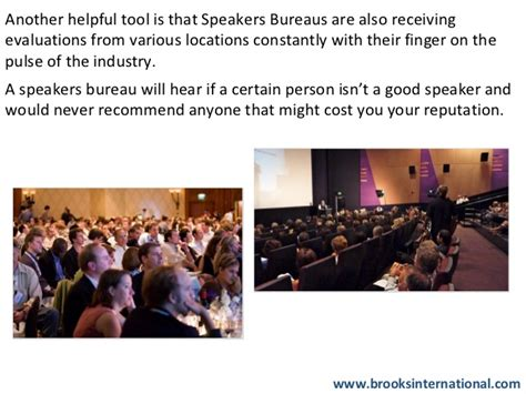 speakers bureau why use a speakers bureau