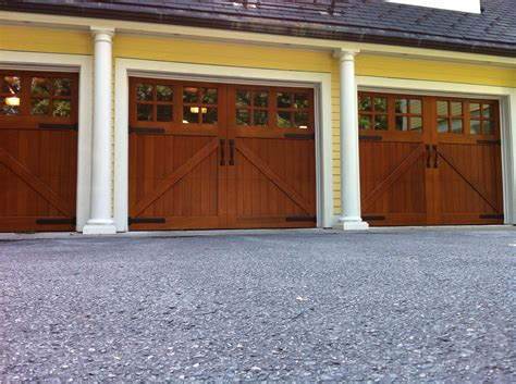 clopay reserve collection custom wood carriage house