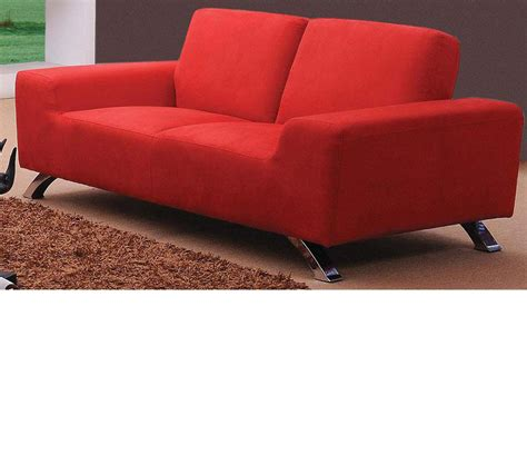 modern red sofa dreamfurniture com sunset modern red sofa set