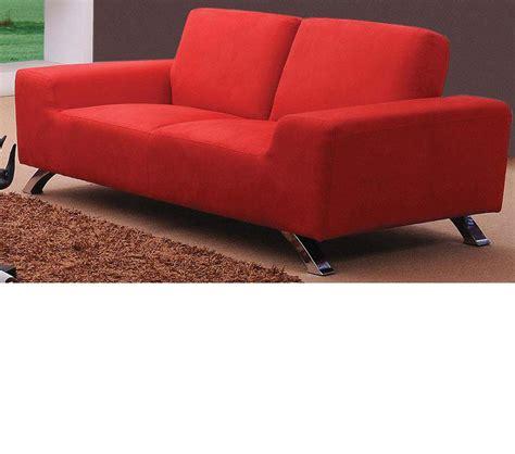 contemporary red sofa dreamfurniture com sunset modern red sofa set