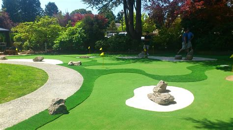 what to do in your backyard how to create a mini golf court in your backyard