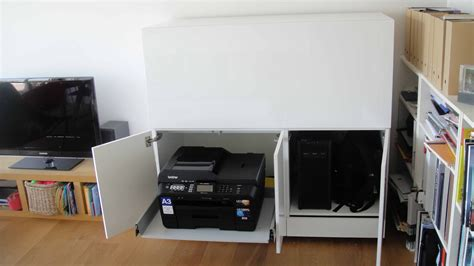 printer stand ideas printer stand ikea a smart solution to organize your