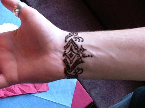wrist tattoos  men