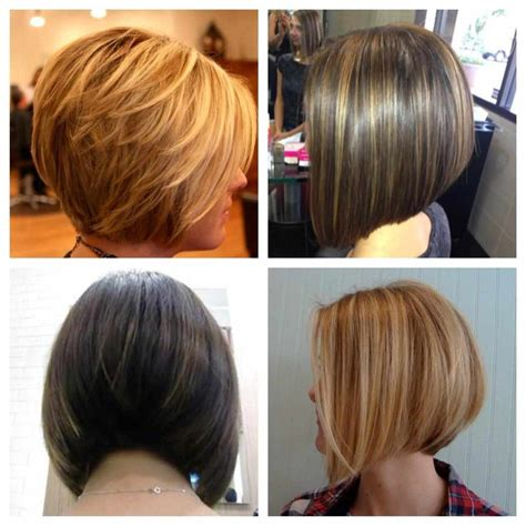 picture front and back views of the stacked bob hairstyles medium stacked bob haircut back view www pixshark com