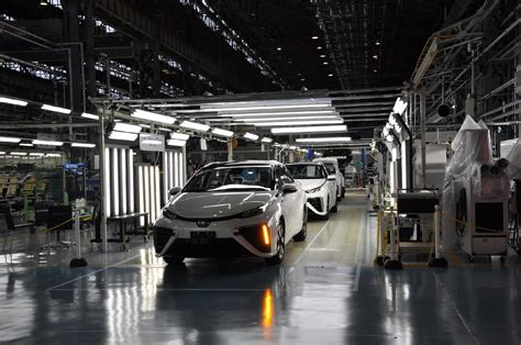 toyota product line behind the scenes of toyota mirai production only 3 made