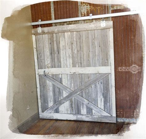 Barn Wood Sliding Door Custom Made Reclaimed Barn Wood Sliding Barn Door By Heirloom Llc Custommade