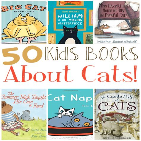 toddler books  cats