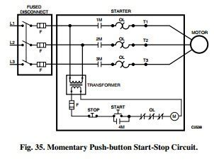 2 Push Button Start Stop Diagram Wedocable Electric Fundamentals Motor Circuits Electric Equipment