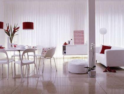 decorar sala blanca decoraci 243 n de salas blancas con comedor moderno hermoso