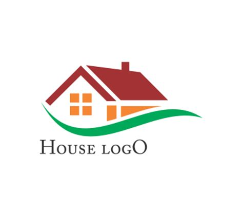 design house logo vector house building logo inspiration vector