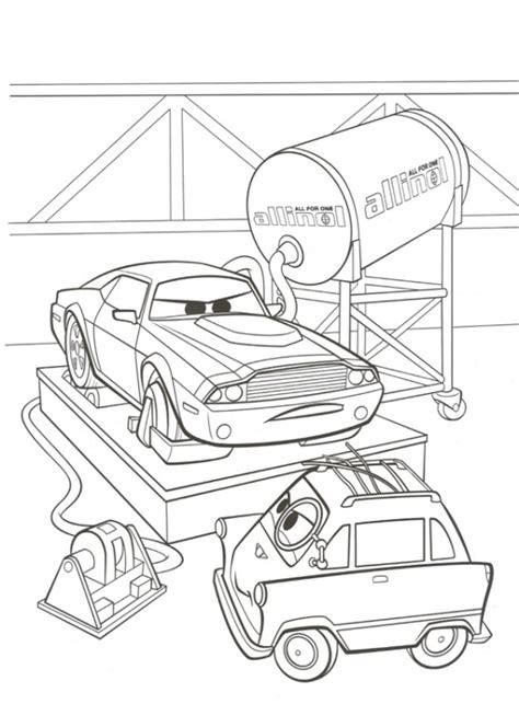 cars 2 coloring pages rod torque redline n kleurplaat cars 2 rod torque redline en zundapp