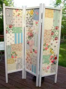 Folding Screen Room Divider by Patchwork Diy Folding Screen Mod Podge Rocks