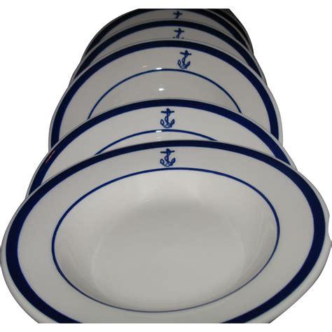 schweiger v china doll restaurant inc 6 set of us navy fouled anchor bowls homer laughlin
