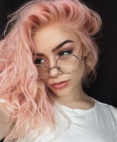 pastel pink hair ideas  pinterest rose hair