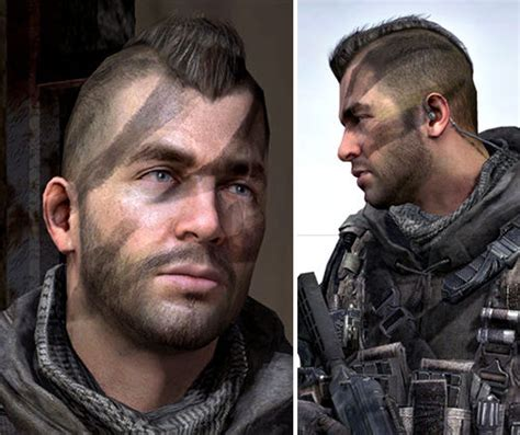 warhawk haircut john soap mactavish warhawk hairstyle from call of duty