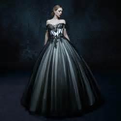 online get cheap black gothic wedding dresses aliexpress