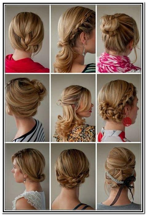easy updos for medium length hair tutorial in updos