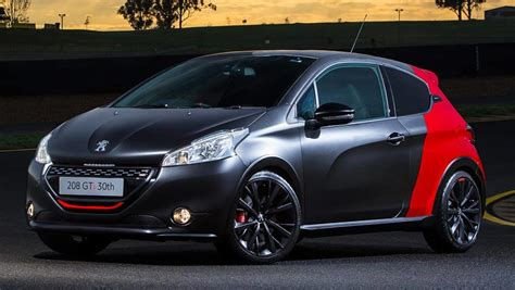 peugeot 208 gti 30th anniversary peugeot 208 gti 30th anniversary 2016 review carsguide