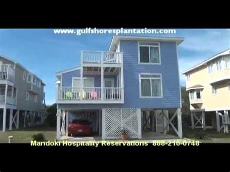 gulf shores plantation cottages gulf shores plantation cottage 6a tour