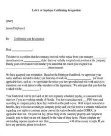 Reply Acceptance Letter Resignation Letters In Pdf