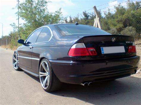 painted for bmw e46 trunk lip spoiler sedan coupe m3