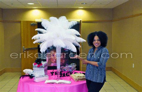rent ostrich feather centerpieces, ostrich feather