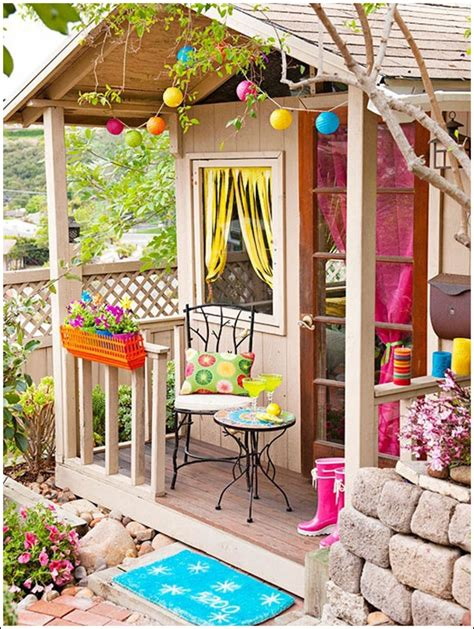 how to transform a small backyard transform your garden shed or greenhouse into a relaxing