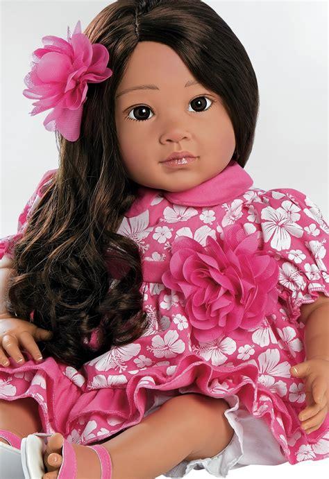 doll gallery lifelike hawaiian hula gentletouch vinyl doll